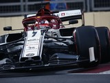 Alfa Romeo's Raikkonen excluded from F1 qualifying in Baku