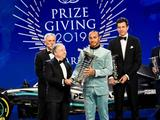 Lewis Hamilton officially crowned 2019 F1 champion at FIA Gala