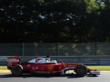 Vettel not where he wants to be at slippery Spa