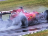 Pirelli abandons wet test after Vettel crash