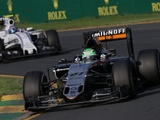 Mixed emotions for Force India pair