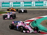 "Force India ""are catching up"", says Sergio Perez"