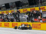 Styrian GP: Hamilton takes controlled victory in Mercedes 1-2 as Ferraris collide