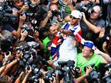 How Formula One reacted to Lewis Hamilton's title triumph on social media