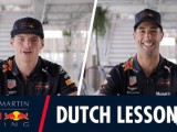 Video: Max Verstappen's Dutch language lessons