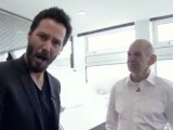 Video: Keanu Reeves gets a tour of Red Bull's factory