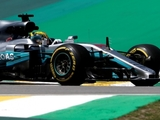 Hamilton heads Mercedes 1-2 in first practice
