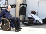 F1 team principal Frank Williams in hospital