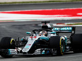 Hamilton to head Mercedes front row in Spain