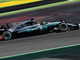Lewis Hamilton leads dominant Mercedes one-two in FP1
