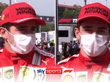 Leclerc delighted with 'standout' and 'amazing' Ferrari
