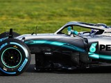 Mercedes 'worked hard' to make W10 2019 F1 car kinder on its tyres