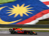 Red Bull heads first practice at rainy Malaysia