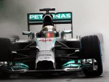 Rain unable to interrupt Mercedes from shining