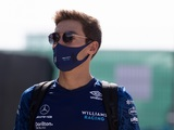 Russell issued British GP grid drop for Sainz contact during F1 Sprint