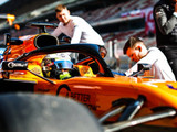 McLaren staff injured in Barcelona garage fire