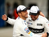 Button on team-mates, Ricky Bobby & numpties