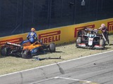 F1 Tuscan GP: Magnussen, Latifi summoned to stewards over red flag pile-up