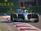 Bottas leads another Mercedes 1-2