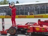 Vettel pumped up after ending pole drought