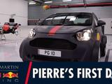 Video: Pierre Gasly arrives in style for his first day at Red Bull