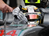Merc altered gloves to help with clutch issues