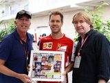 Sebastian Vettel acquires 32-piece art collection honouring F1 world champions