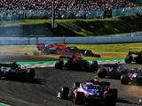 Leclerc and Verstappen clash on first lap at Suzuka