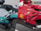 F1 technical video: How Mercedes and Ferrari compare in 2017