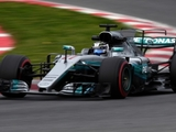 Bottas flies to quickest time at Barcelona