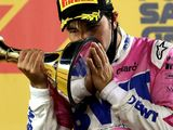 'Shocked' Perez in dreamland after breaking F1 duck