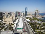 """Russell """"quite relieved"""" to see the back of Baku"""