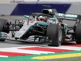 Lewis Hamilton fastest in Austrian GP first practice