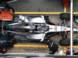 Mercedes found 0.25s from slimming sidepod design