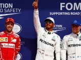 Hamilton equals Schumacher record with pole