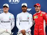 Lewis Hamilton flies to France pole in Mercedes front row lockout