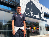 Albon's Red Bull seat fitting under way before Belgian GP debut
