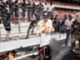 Vettel goes 'Crazy Frog' in Spain