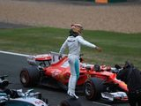 Hamilton Finds Matching Jim Clark with Silverstone Pole 'Surreal'