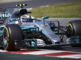 Mercedes sets formidable pace in opening session