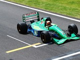 Driving the F1 icon that launched Schumacher's career