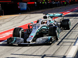 Mercedes ups the ante as testing resumes