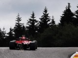 Sebastian Vettel opens Belgian GP weekend on top