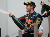 Vettel equals Prost on four world titles