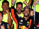 Daniel Ricciardo would have bet all his money on not winning