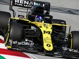 Alonso drives Renault's car as comeback begins
