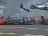 W Series qualifying interrupted by huge Spa shunt