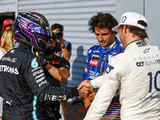 "Gasly ""deserves a place in the top team"", says Hamilton"