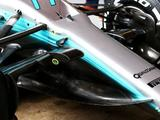 Mercedes gets winged-nose and intricate bargeboards for Spain