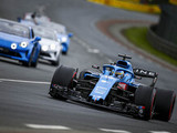 Alonso in action at Le Mans